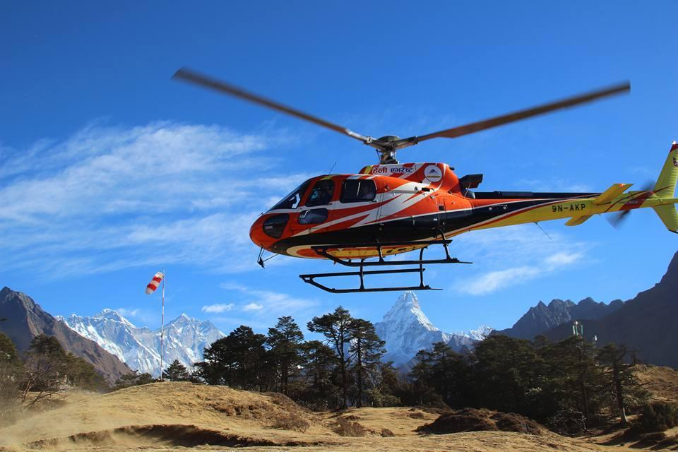 Kathmandu Pokhara and Chitwan Heli Tour