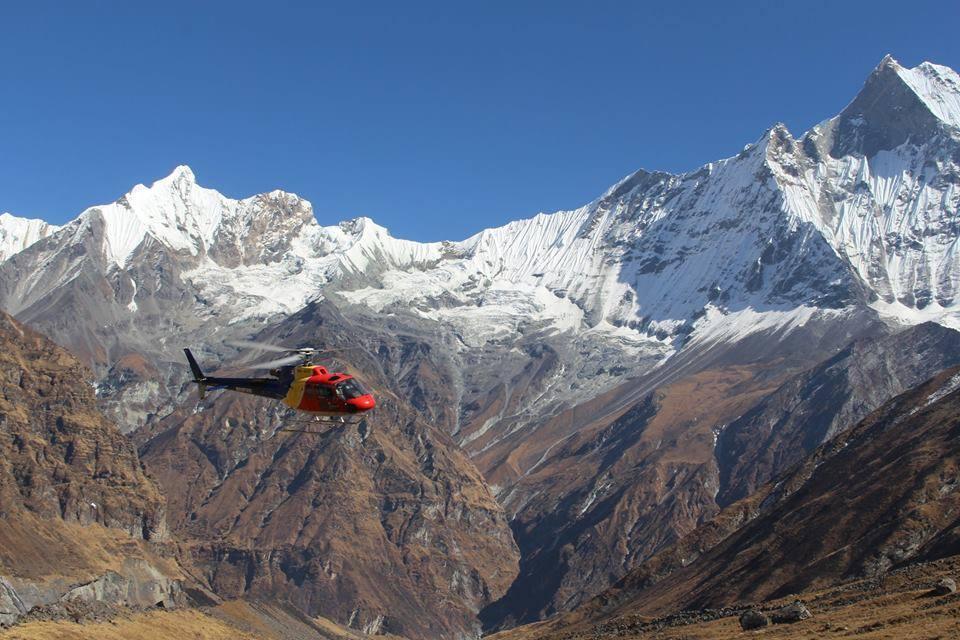 Kathmandu Pokhara Annapurna Heli Tour
