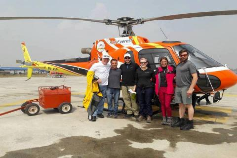 Everest Heli Trek